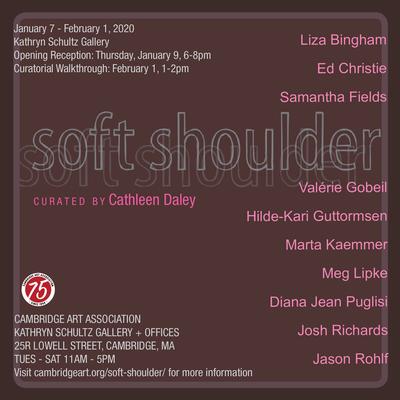 Soft Shoulder at Cambridge Art