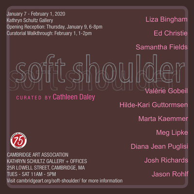 Soft Shoulder at Cambridge Art